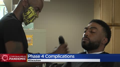 Milwaukee stuck in Phase 4 as number of positive COVID-19 cases...